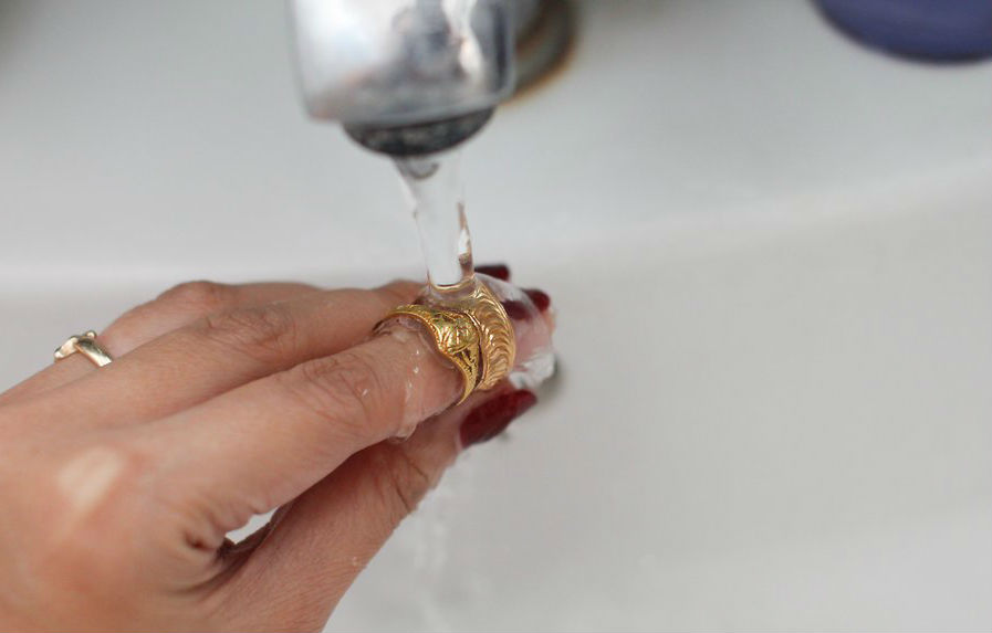 Dica para limpar suas semi joias