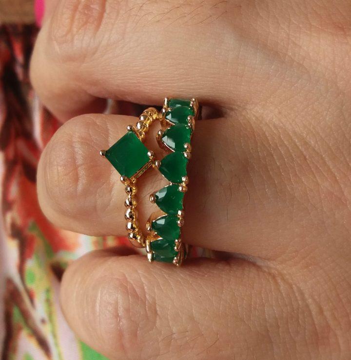 anel solitario noivado estilo pandora