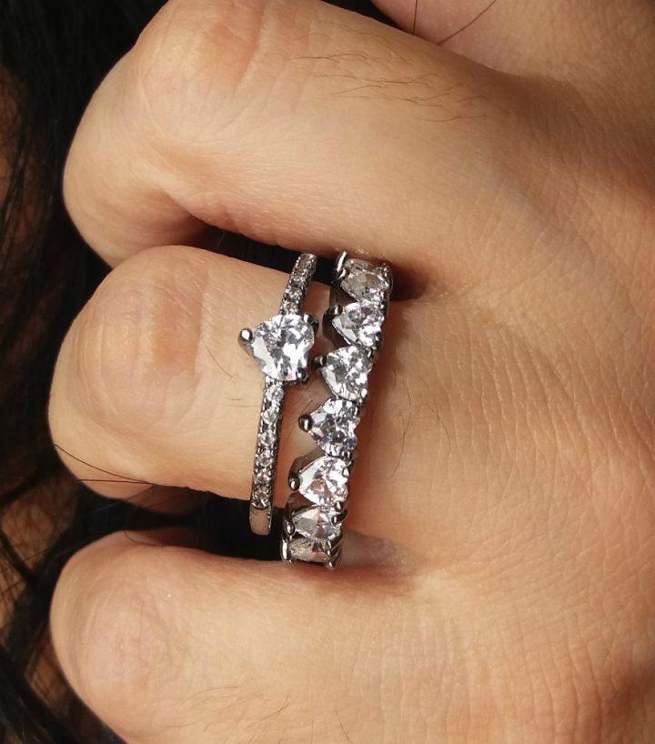 anel solitário noivado de casamento