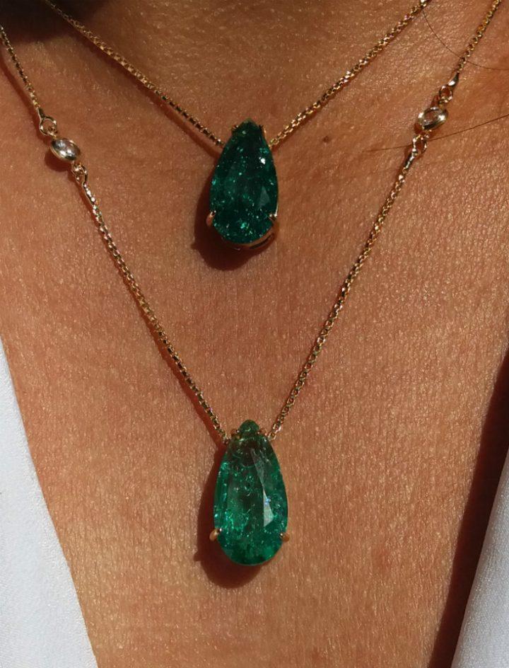 colar esmeralda fusion