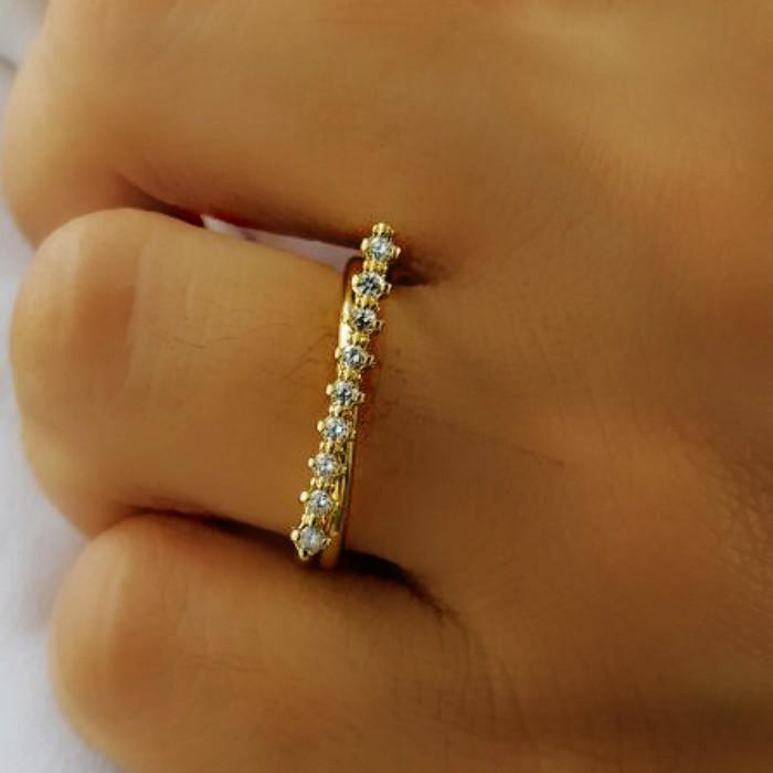 aneis diferentes femininos