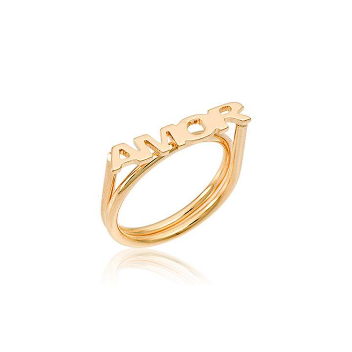 anel com nome personalizado
