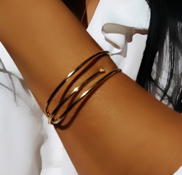 bracelete feminino simple chic