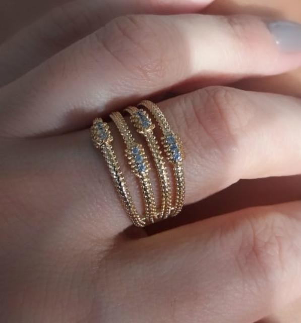 anel delicado feminino